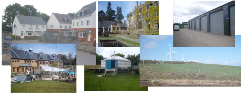 Montage of Buildings